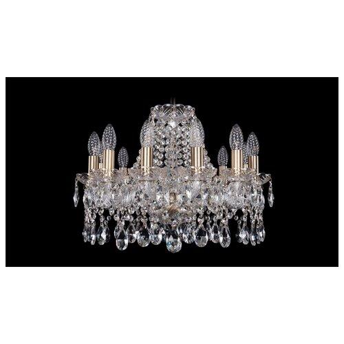 Люстра Bohemia Ivele Crystal 1413 1413/12/165/Pa, E14, 480 Вт люстра bohemia ivele crystal 1771 1771 12 220 b nb e14 480 вт