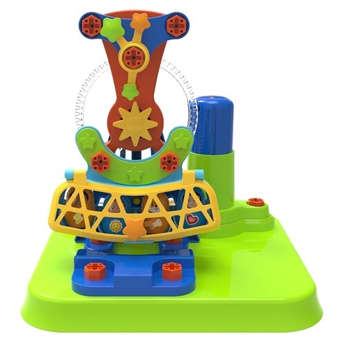 Купить Винтовой конструктор Edu Toys My First Engineering JS027 Карусель, Конструкторы