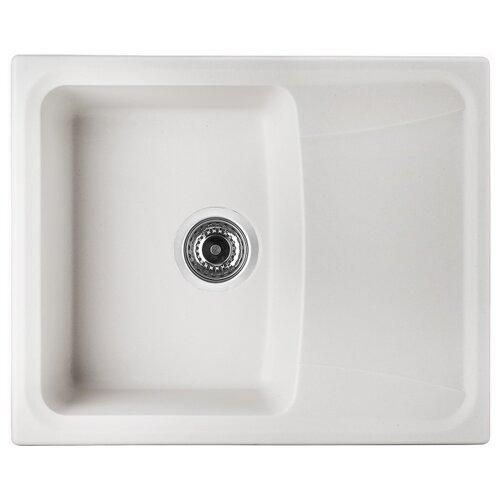 Врезная кухонная мойка 60.9 см UKINOX Онега белый