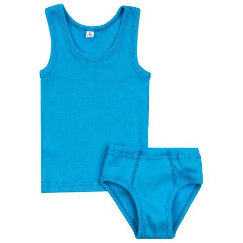 Купить Комплект нижнего белья Утенок размер 98, бирюза, Белье и пляжная мода