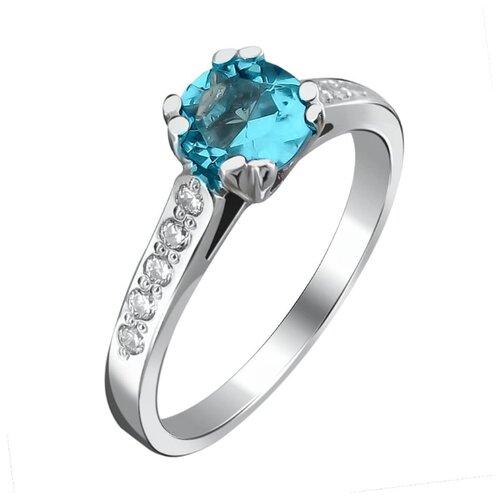 Эстет Кольцо с 11 фианитами из серебра У15К250200-5, размер 17 эстет кольцо с фианитами из серебра 01к2511684 2 размер 17 5