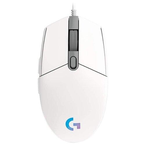 Мышь Logitech G G102 Lightsync, белый