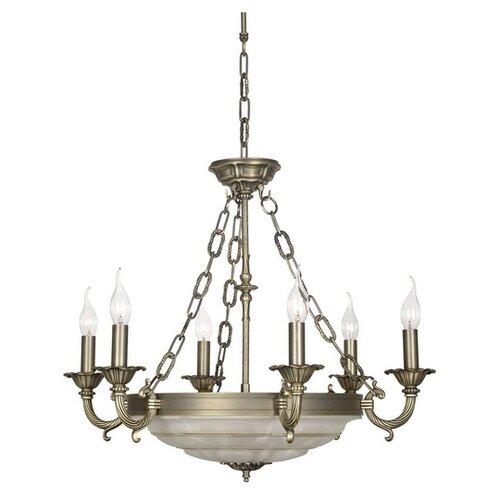 Люстра Arti Lampadari Pavia E 1.13.6 A, E14, 240 Вт люстра arti lampadari falcone e 1 1 6 600 cg e14 240 вт