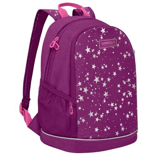 Купить Grizzly рюкзак (RG-063-3), фиолетовый, Рюкзаки, ранцы