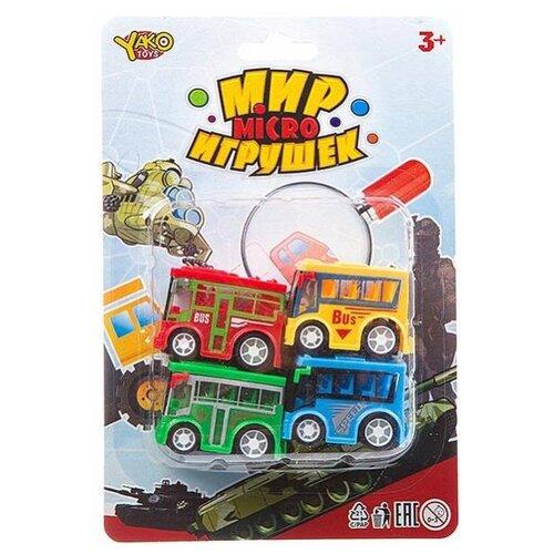 Фото - Набор машин Yako Мир micro Игрушек (B93775) набор машин yako мир моих игрушек m7558 1 белый