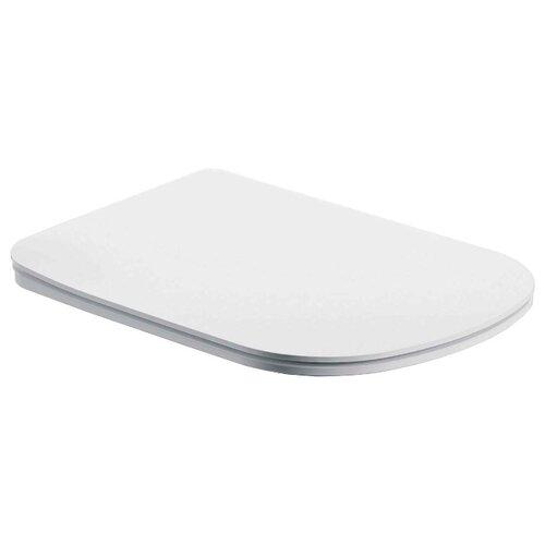 Крышка-сиденье для унитаза BelBagno BB10150SC дюропласт с микролифтом белый/хром сиденье для унитаза belbagno mattino с микролифтом bb2007sc