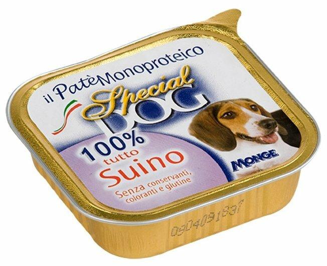 Корм для собак Special Dog Паштет из 100% Свинины (0.150 кг) 1 шт.