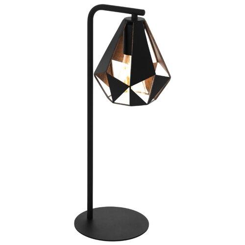 Фото - Настольная лампа Eglo Carlton 43058, 60 Вт торшер eglo carlton 1 49994 60 вт
