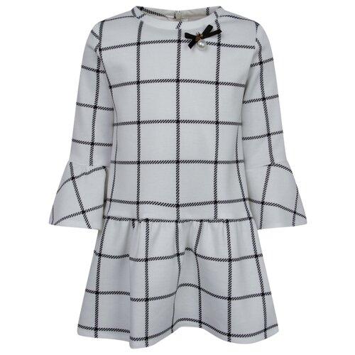 Купить Платье Special Day 2 6069 4719 299 размер 116, белый/клетка, Платья и сарафаны