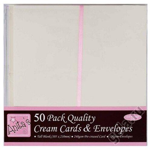 Набор заготовок для открыток с конвертами 50 шт DOCRAFTS, 50 шт* ANT1513021