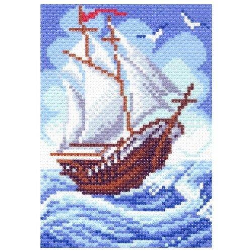 южный городок рисунок на канве 16 20 16х20 11х16 матренин посад 517 Кораблик Рисунок на канве 16/20 16х20 (10х14) Матренин Посад 1438