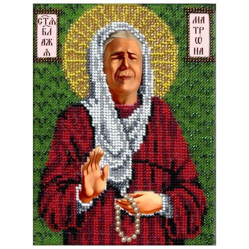 Купить Вышиваем бисером Набор для вышивания бисером Матрона Московская 14 x 19 см (М-18), Наборы для вышивания