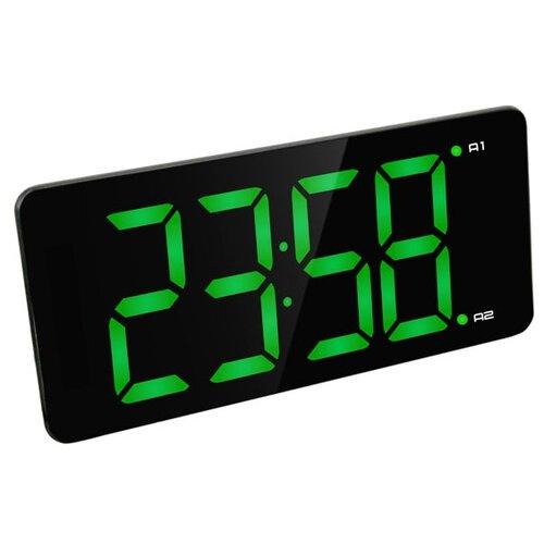 Часы настольные BVItech BV-475 черный/зеленый