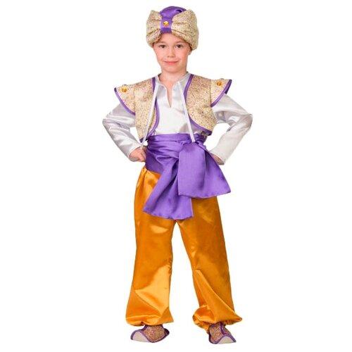 Купить Костюм Батик Аладдин 2 (8099), белый/желтый/фиолетовый, размер 140, Карнавальные костюмы