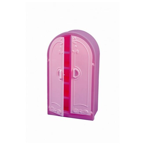 Купить ОГОНЁК Шкаф розовый (С-1429) розовый, Мебель для кукол