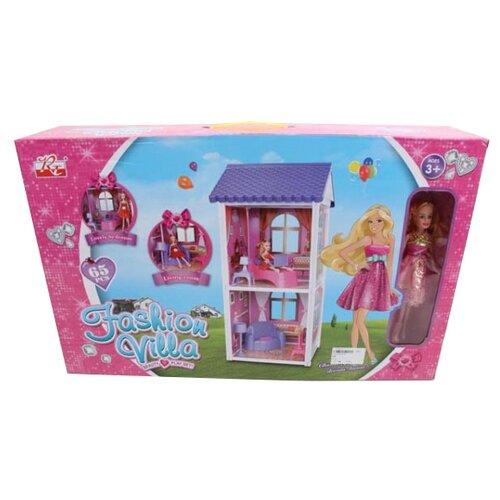 Shantou Gepai Fashion Villa B1761428, белый/розовый/фиолетовый набор посуды shantou gepai play house b1750458 розовый фиолетовый голубой