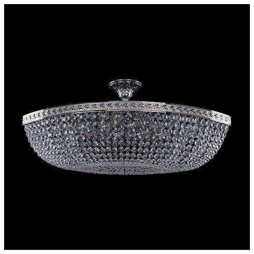 Люстра Bohemia Ivele Crystal 1911 19113/90IV Ni, E14, 480 Вт bohemia crystal люстра bohemia crystal 1911 45 z ni