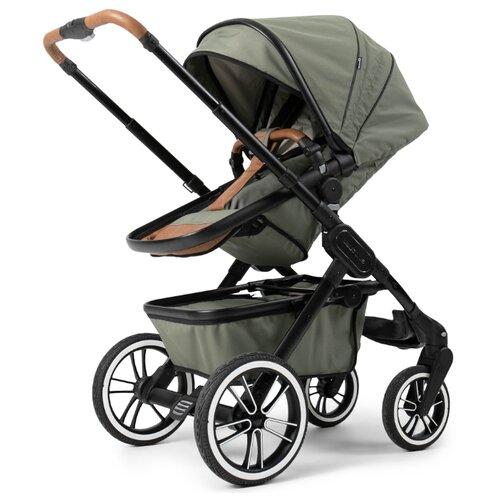 цена на Универсальная коляска Teutonia TRIO (2 в 1) urban hunter, цвет шасси: черный