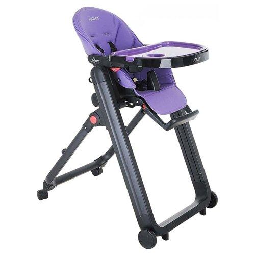 Стульчик-шезлонг Ivolia Leon purple стульчик для кормления ivolia hope 01 2 колеса orange