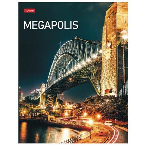 Купить Hatber Тетрадь Megapolis 240ТК5В1_23148, клетка, 240 л., Тетради