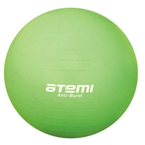 Фитбол ATEMI AGB-04-55, 55 см зеленый фитбол atemi agb 05 75 75 см фиолетовый