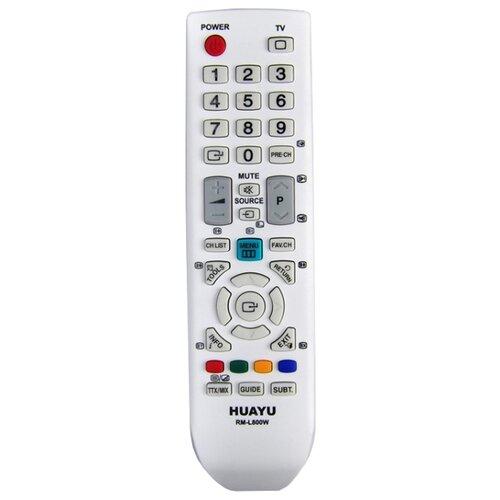 Фото - Пульт ДУ Huayu RM-L800 для телевизоров Samsung, белый пульт ду huayu для samsung bn59 00863a
