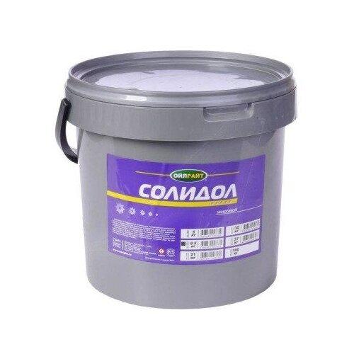 Автомобильная смазка OILRIGHT Солидол жировой 9.5 кг