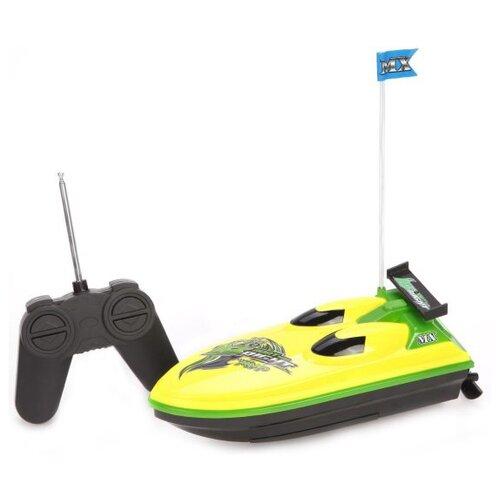 Купить Катер Yako Солнечное лето (M6523) 21 см желтый, Радиоуправляемые игрушки