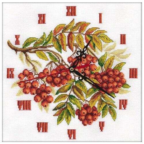 PANNA Набор для вышивания Часы. Гроздья рябины 27 х 27 см (CH-1770)