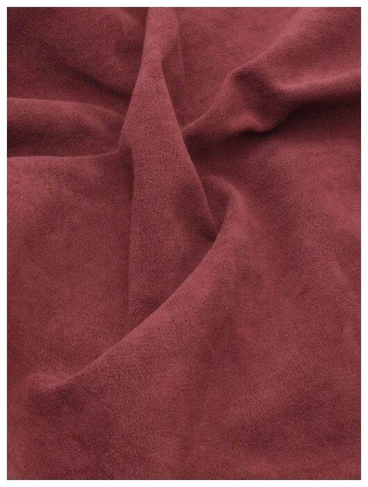Купить Ткань мебельная (велюр) LUXIO 140х100см, цвет бордовый по низкой цене с доставкой из Яндекс.Маркета (бывший Беру)