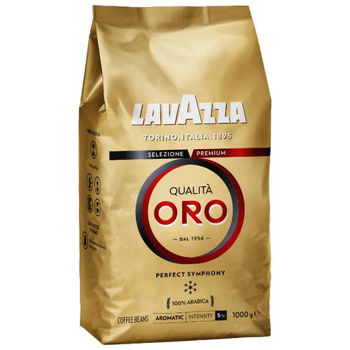 Кофе в зернах Lavazza Qualita Oro, арабика, 1000 г кофе в зернах lavazza qualita rossa 1 кг
