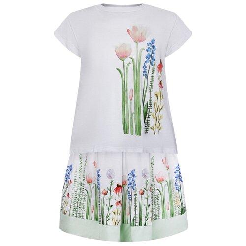 Комплект одежды Il Gufo размер 98, белый