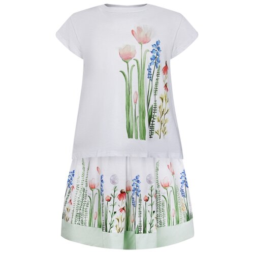 цена на Комплект одежды Il Gufo размер 110, белый