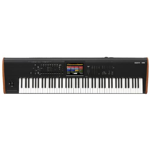 Синтезатор KORG KRONOS2 88 черный/коричневый korg kingkorg