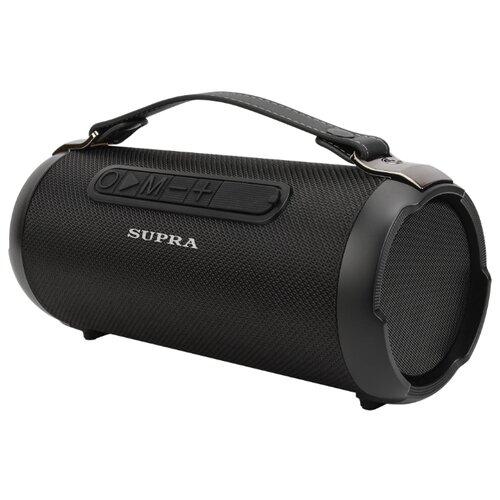 Фото - Портативная акустика SUPRA BTS-580 черный аудиомагнитола supra bts 655 черный
