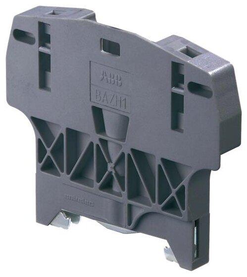 Торцевой ограничитель (концевой фиксатор) для клеммников на монтажную рейку ABB 1SNK900102R0000