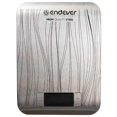 Кухонные весы ENDEVER Chief-538 серебристый кухонные весы endever chief 538 серебристый