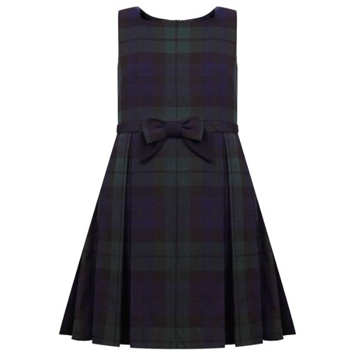 Купить Платье Lapin House размер 134, синий/зеленый, Платья и сарафаны
