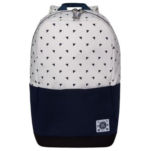 Рюкзак Grizzly RQ-921-5/4 23 (синий/белый) grizzly rq 007 8 рюкзак 2 синий
