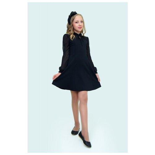 Купить Платье Ladetto 2Т56 размер 32-134, черный, Платья и сарафаны