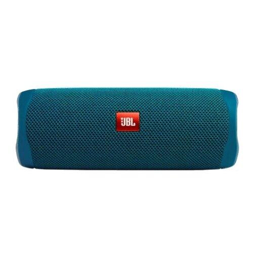 Портативная акустика JBL Flip 5 Eco Edition, 20 Вт, blue