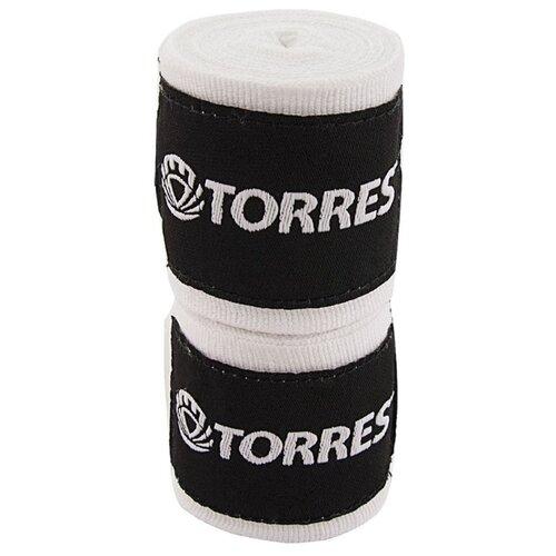 Бинты боксерские TORRES, белый, 2.5 м x 5.0 см (PRL619016W)