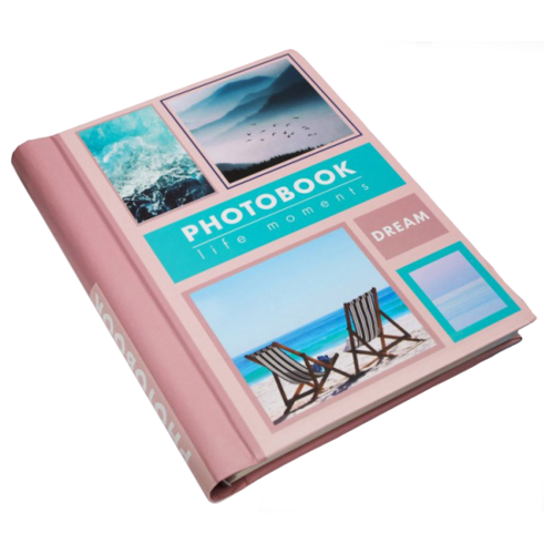 Фотоальбом ArtFox Dream 4566168, для формата 10 х 15, розовый