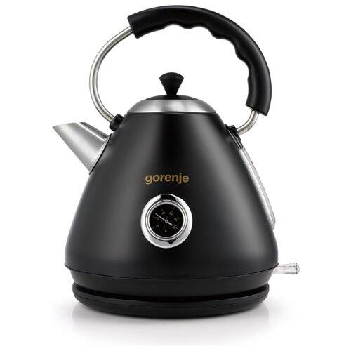 Чайник Gorenje K17CLBK, black чайник gorenje k17fe серебристый