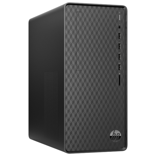 Настольный компьютер HP M01-D0032ur (8KE97EA) Mini-Tower/Intel Core i3-9100F/4 ГБ/128 ГБ SSD/AMD Radeon RX 5300 XT/Windows 10 Home черный 2 настольный компьютер iru office 313 mt 1175752 mini tower intel core i3 9100f 4 гб 240 гб ssd nvidia geforce gt 710 dos черный