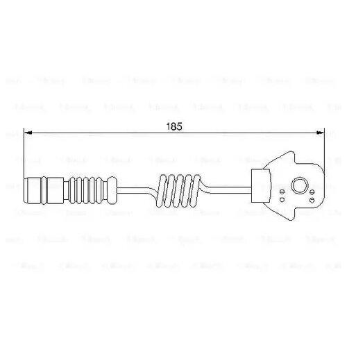 Датчик износа тормозных колодок передний Bosch 1987474963 для Mercedes-Benz M-class
