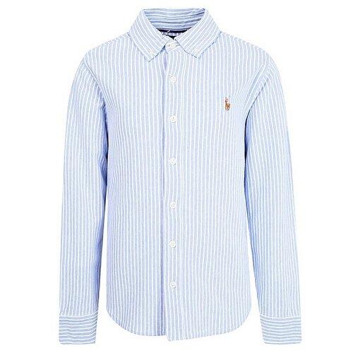 Рубашка Ralph Lauren размер 104, голубой поло ralph lauren размер 104 голубой синий