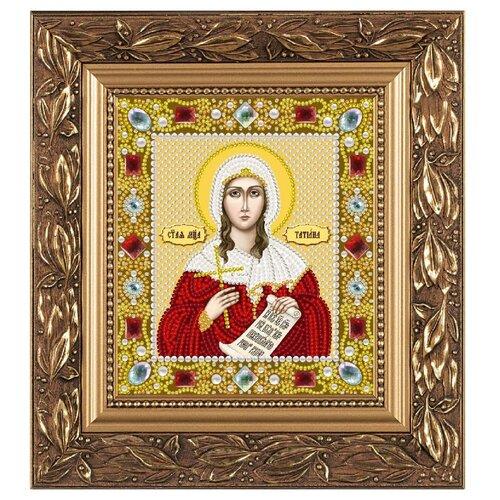 Купить NOVA SLOBODА Набор для вышивания бисером иконы Св. Мученица Татиана (Татьяна) Римская 13 х 15 см (Д6171), Наборы для вышивания