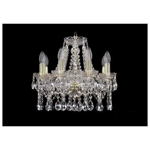 Люстра Bohemia Ivele Crystal 1413 1413/8/141/G, E14, 320 Вт люстра bohemia ivele crystal 1413 1413 6 141 g leafs e14 240 вт