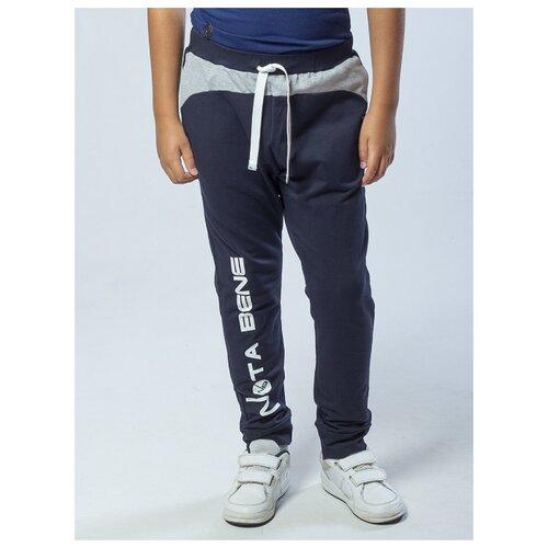 Купить Спортивные брюки Nota Bene размер 158, темно-синий, Брюки